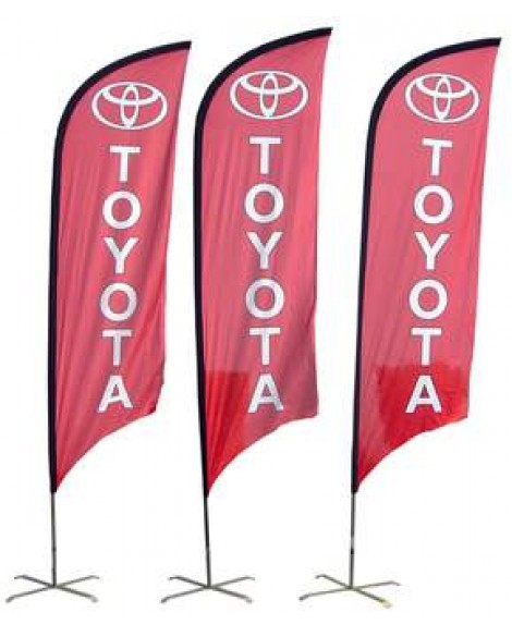 Bow Banners Single Sided 2.5m