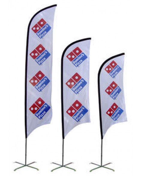 Bow Banners Double Sided 3.5m
