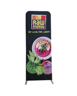 Tension Fabric Stand Up Single Sided Banner