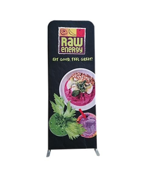 Tension Fabric Stand Up Double Sided Banner