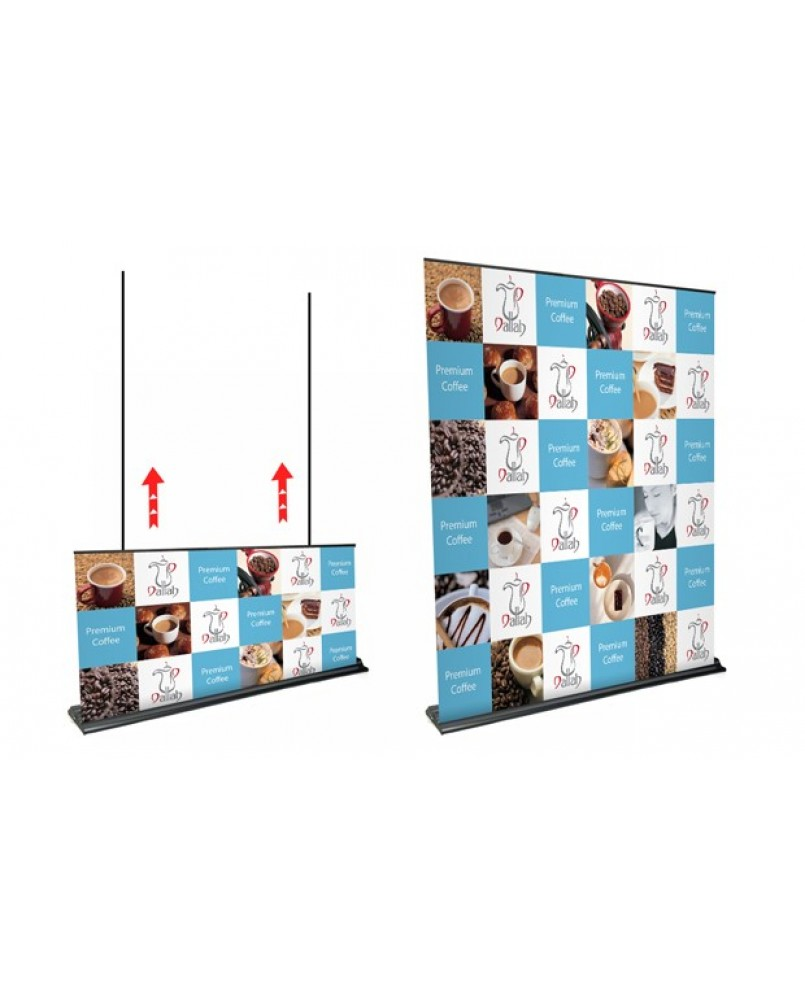 Ultra Size Pull Up Banner